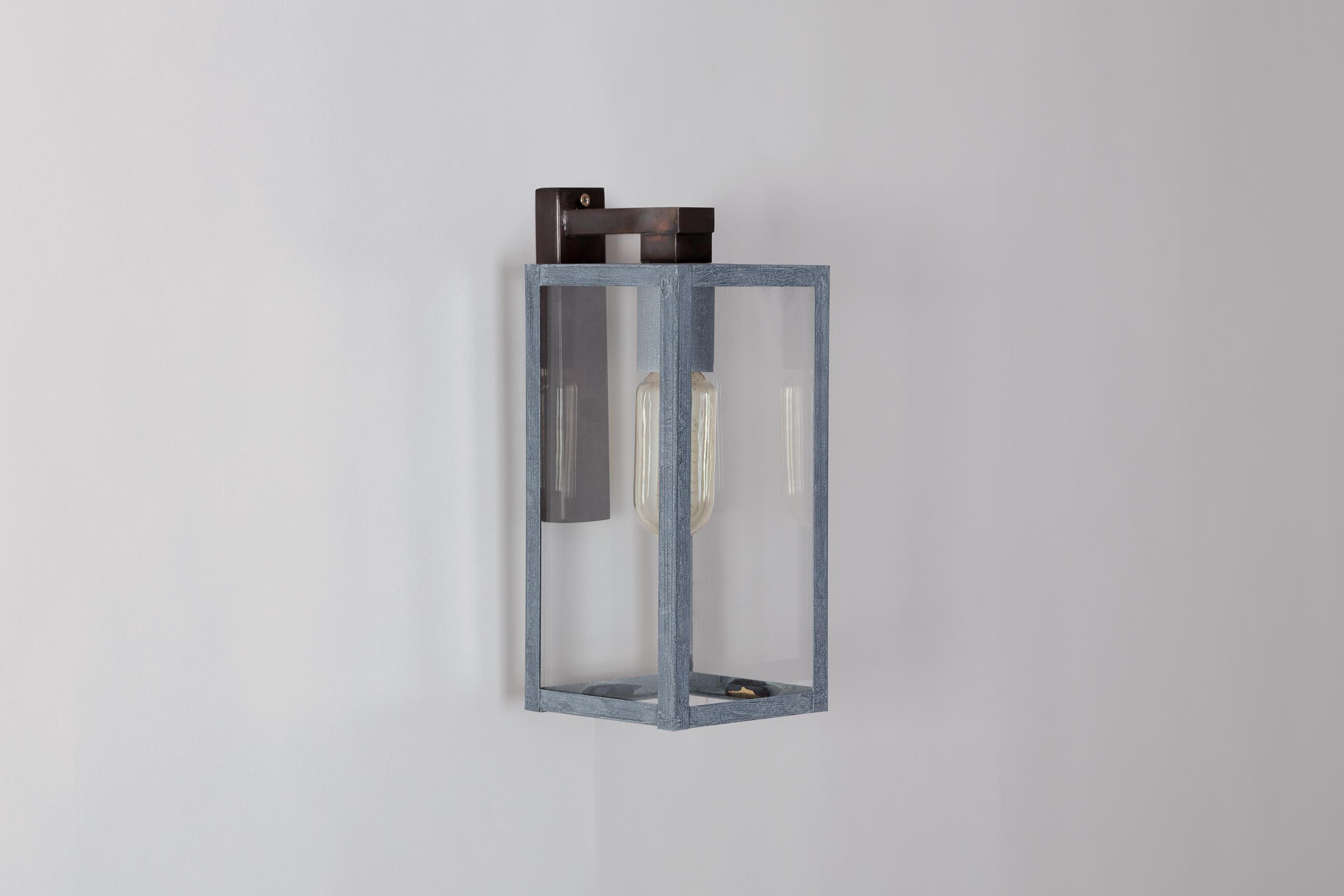 Bellecour applique mm 2166 lum 39 art for Applique exterieur zinc