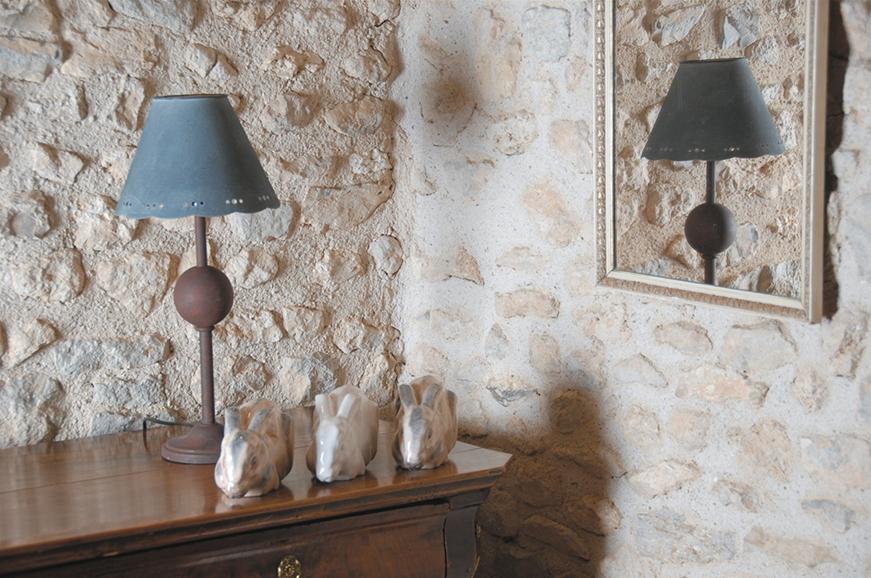 Histoire - Lampe - Lum'art